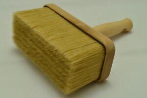 180 x 80 Wooden Pure Bristle Block Paint Brush, Masonry, Fence, Ceiling Brush