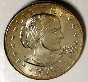1979-P $1 Susan B Anthony Dollar BU lrr-2 70 Cents Shipping
