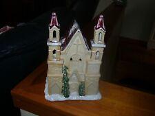 Christmas Church Tea Light Holder.