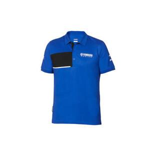 YAMAHA RACING OFFICIAL PADDOCK BLUE 2020 MEN'S POLO SHIRT NEW