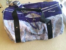 Lululemon Keep On Running Duffel Tote Bag Spray Dye Cool Breeze Bruised Berry