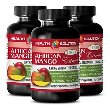 African Mango Cleanse - AFRICAN MANGO 1200 - Fat Burner - 100% Pure - 3Bot 180Ct