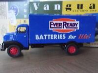Vanguards VA18000, Leyland Comet Box Van, Ever Ready Batteries