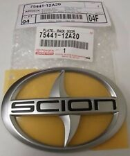 GENUINE SCION XD IQ REAR HATCH EMBLEM 7 BADGE 75441-12A20 OEM AND BRAND NEW PART