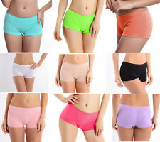 Womens Sports Boxer Shorts Knickers Pants Underpants Panties Boyshorts Briefs