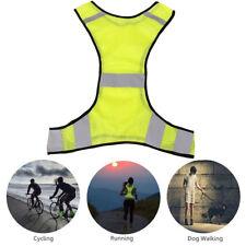 Reflective Jacket Safety Vest For Running Jogging Walking Bike Luciffer