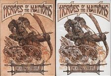 Heroes of the Nations 2 Deck Set Playing Cards Poker Size USPCC Custom Limited
