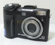 Olympus SP-350 8MP Digital Camera with 3x Optical Zoom (Black)