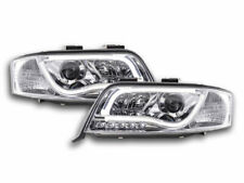 Coppia fanali daylight Audi A6 tipo 4B Anno: 01'-04 cromato
