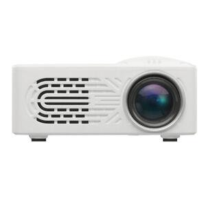 New LED Mini Projector HDMI AV HD 1080P Home Theater Cinema Video White