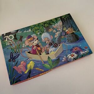 VINTAGE JIGSAW Puzzle FALCON 1970's Retro Child Mice Kitsch Vgc