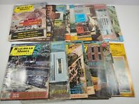 Vintage 1970s Railroad Model Craftsman Magazine Lot Of 16