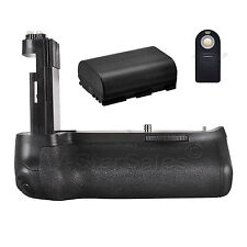 Vivitar Battery Grip For Canon 80D + LP-E6 battery + Remote Control