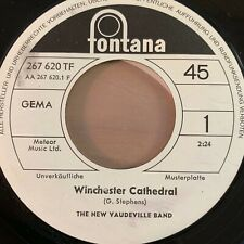 """New Vaudeville Band - Winchester Cathedral // 7"""" - 1. German-Press. 1966 - Promo"""