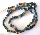 circa.300 B.C Ancient Egypt PTOLEMAIC Period Blue Glass Necklace Bead Set