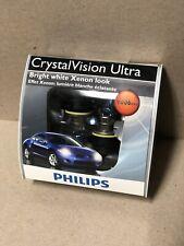 NEW Philips 9006 CrystalVision Ultra Upgrade 9006CVS2 12V 55W Bulb