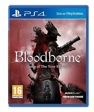Bloodborne Game Of The Year GOTY PS4 NUEVO ESPAÑOL CASTELLANO PRECINTADO PAL