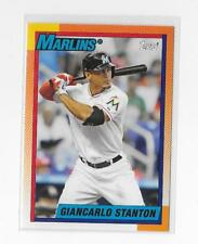 2013 Topps Giancarlo Stanton Archives #178 Miami Marlins / New York Yankees