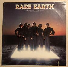 "Rare Earth, Band Together, 12"" Vinyl LP Record, Prodigal P7-10025RI, 1978"