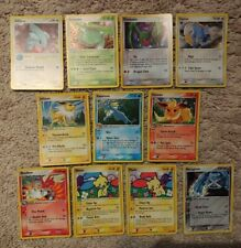 11 All Holo Pokemon Pop Series Lot - Misprint Holobleed , Promo, Pop 1 2 3 6