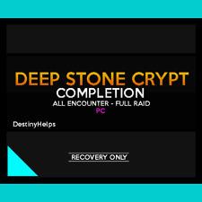 Deep Stone Crypt FULL Raid + All Chests [DsC] (PC)