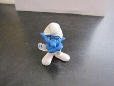 Smurfs Movie Grouchy Smurf Vintage Rare (e)