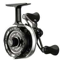 13 Fishing Black Betty 6061 Left Hand Ice Fishing Reel w/ FREE HAT- 60612015-LH