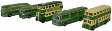 BNIB N GAUGE OXFORD DIECAST 1:148 NSET003 5 PIECE BUS SET SOUTHDOWN