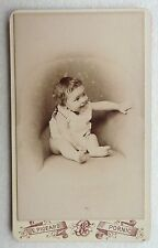 CDV PHOTO PIGEARD à PORNIC bébé enfant O193