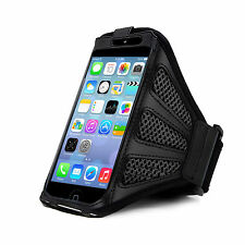 iPhone 5 Strong ArmBand Black Cover For SPORTS GYM BIKE CYCLE JOGGING RUNNING