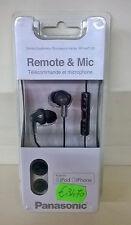 Panasonic RP-HJC - 120 Auricolari In Ear con microfono controllo volume Bianca