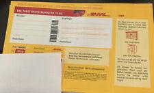 5 DHL Paketmarken bis 10 Kg - Insgesamt 5 Stück
