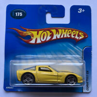 2005 Hotwheels Chevy Corvette C6 V8 Yellow! Mint! Very Rare!