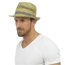Chapeaux panamas beige pour homme