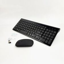 Wireless Mini Mouse and Keyboard for Droibox Ace Quad Core Android 4.2 TV FBK Ku