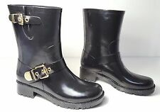 a3ac6761325b size 6 Vince Camuto Hinch Black Rubber Mid Calf Rain Boots Womens shoes