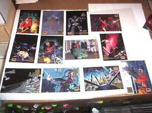 STAR WARS GALAXY SERIES 3 Topps 1995 Complete LUCAS ART Chase 12 Card Set L1-L12