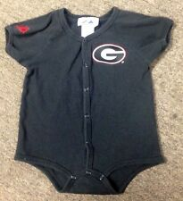 authentic MAJESTIC GEORGIA BULLDOGS BABY/TODDLER 24 MONTHS ONE-PIECE OUTFIT nice