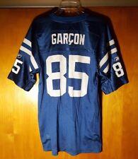 NFL ~ Indianapolis Colts Reebok On Field PIERRE GARCON #85 Men's Jersey Size L