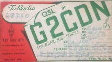 Ham Radio Vintage QSL G2CDN England 1949