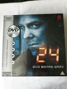 24 DVD Board Game By Parker NEW AND SEALED FREE SHIPPING