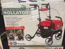 Rollator Gehhilfe Gehwagen Einkaufshilfe Einkaufswagen Sitzfläche Klappbar NEU