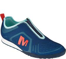 Merrell Women's Civet Zip Trainers UK5 Eu38 Mykonos Blue Sneakers BRAND NEW