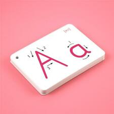 A-Z Alphabet Flash Cards Set - Educational Learning Basic Letter Card Pack ABC H