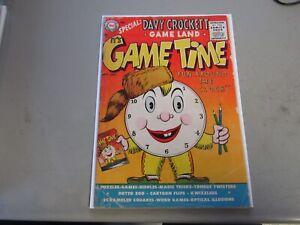 It's Game Time #1 Comic Book  1956  SCARCE  RARE