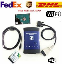 GM MDI Multiple Diagnostic Interface Tool Wifi NEW Scanner ECU with Software DHL