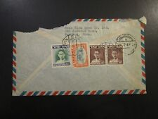 Thailand 1949 Airmail Cover to Usa - Z6071