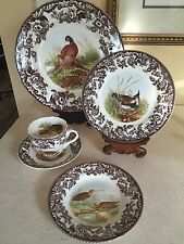 """Spode """"Woodland"""" 5pc. Place Setting Set - Made in England NEW In Box!!"""