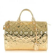 """Borsa Louis Vuitton modello """"Speedy Monogram Gold Miroir 35"""" edizione limitata"""