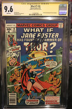 WHAT IF #10 CGC 9.6 SS STAN LEE 1ST JANE FOSTER THOR JOURNEY INTO MYSTERY 83 NM